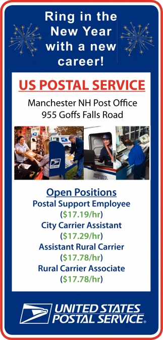 Open Positions, United State Postal Service